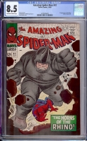 Amazing Spider-Man #41 CGC 8.5 ow/w