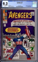 Avengers #16 CGC 9.2 w