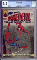 Daredevil #16 CGC 9.2 ow/w