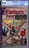 Fantastic Four #17 CGC 9.0 ow/w