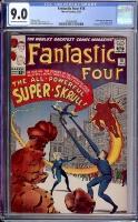 Fantastic Four #18 CGC 9.0 ow/w