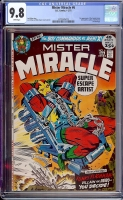 Mister Miracle #6 CGC 9.8 w