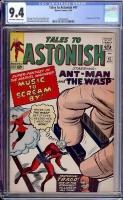 Tales to Astonish #47 CGC 9.4 ow/w