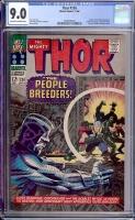 Thor #134 CGC 9.0 ow/w