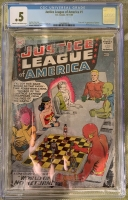 Justice League of America #1 CGC 0.5 cr/ow