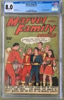 Marvel Family #2 CGC 8.0 ow
