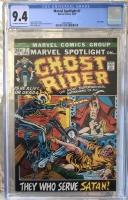 Marvel Spotlight #7 CGC 9.4 ow/w