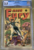 Miss Fury #4 CGC 3.5 ow/w