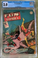 More Fun Comics #83 CGC 2.0 ow/w