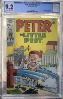 Peter the Little Pest #1 CGC 9.2 ow/w