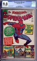 Amazing Spider-Man #38 CGC 9.0 ow/w