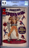 Amazing Spider-Man #47 CGC 9.2 w