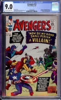 Avengers #15 CGC 9.0 ow/w