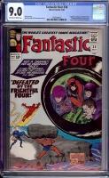 Fantastic Four #38 CGC 9.0 ow/w