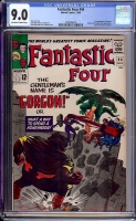 Fantastic Four #44 CGC 9.0 ow/w