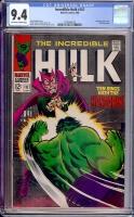 Incredible Hulk #107 CGC 9.4 ow/w