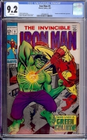 Iron Man #9 CGC 9.2 w