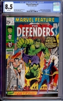 Marvel Feature #1 CGC 8.5 w