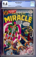 Mister Miracle #7 CGC 9.4 ow/w