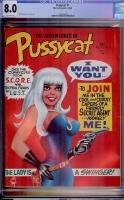 Pussycat #1 CGC 8.0 ow