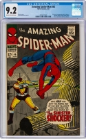 Amazing Spider-Man #46 CGC 9.2 ow/w