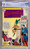 Adventure Comics #260 CBCS 9.4 ow/w