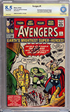 Avengers #1 CBCS 8.5 ow/w CBCS Authentic Signature
