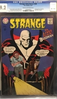 Strange Adventures #206 CGC 9.2 cr/ow Seattle Drug Store Collection