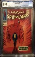 Amazing Spider-Man #50 CGC 8.0 ow/w