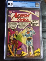 Action Comics #249 CGC 8.0 ow