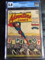 Adventure Comics #143 CGC 5.0 ow/w