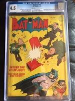 Batman #18 CGC 4.5 ow/w