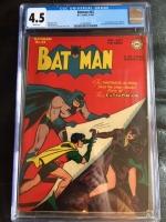 Batman #42 CGC 4.5 w