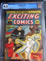 Exciting Comics #25 CGC 4.5 cr/ow