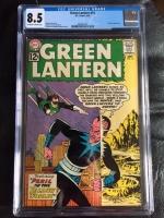 Green Lantern #15 CGC 8.5 ow/w