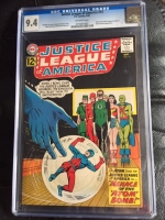 Justice League of America #14 CGC 9.4 ow