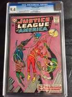 Justice League of America #27 CGC 9.4 cr/ow