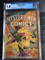 Mystery Men Comics #2 CGC 1.8 cr/ow
