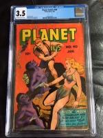 Planet Comics #40 CGC 3.5 ow/w