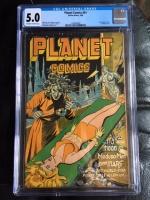 Planet Comics #41 CGC 5.0 ow/w