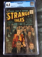 Strange Tales #59 CGC 4.5 ow/w