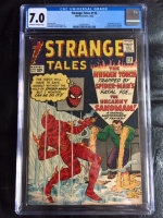 Strange Tales #115 CGC 7.0 ow/w