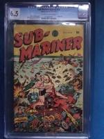 Sub-Mariner Comics #14 CGC 6.5 ow/w