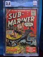 Sub-Mariner Comics #42 CGC 3.5 ow