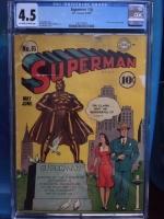 Superman #16 CGC 4.5 ow/w