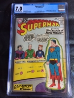 Superman #147 CGC 7.0 cr/ow