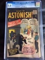 Tales to Astonish #4 CGC 5.0 ow/w