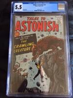 Tales to Astonish #22 CGC 5.5 w