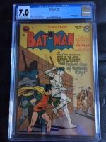 Batman #70 CGC 7.0 ow/w