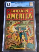 Captain America Comics #30 CGC 6.5 cr/ow